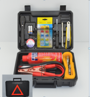 21pcs set economic auto roadside emergency kit, car emergency tool kit, car emergency kit