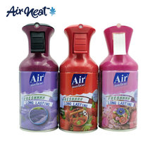 Variety of Fragrance Aerosol Spray Can Refill Mini Toilet Aerosol Metered Automatic Air Freshener Refill