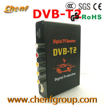 OEM HD Mobile Car DVB T2 Set Top Box Digital TV Receiver For Many Countries
