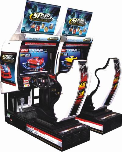 coin operated simulator arcade car racing games for sale