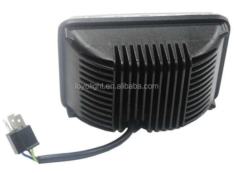 "Hot sale! 45W 7 inch square led headlight high / low beam 7"" 5x7 led lights for truck"