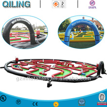 Inflatable sport games crazy golf track