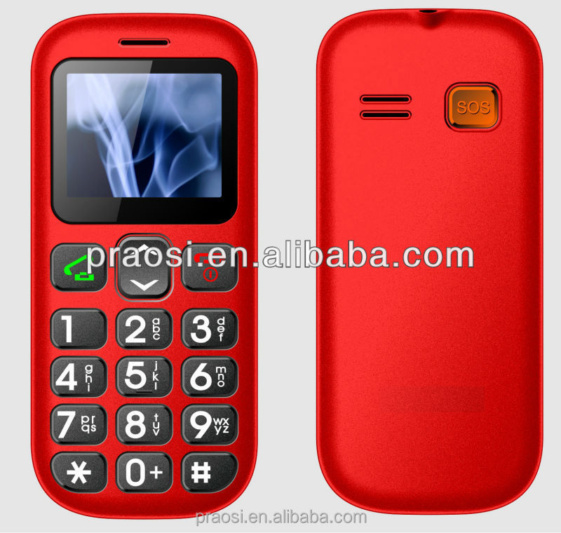 Elder mobile phone with big keypad for Senior people