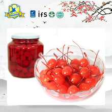 Canned fruit fresh organic cherry