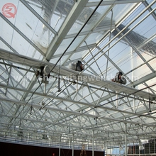 Commercial Venlo SQ-12.0 glass greenhouse with top quality