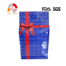 Custom Printed Aluminum Foil heat sealing Side Gusset standing Eco Food Packaging pouch bag
