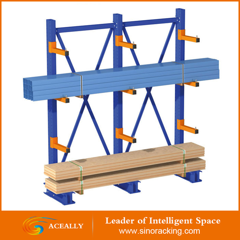 Heavy Duty Warehouse Storage Cantilever Rack for Car
