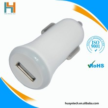 top quality qc 2.0 quick charger mini usb car charger 5v 2.4a for smart phone