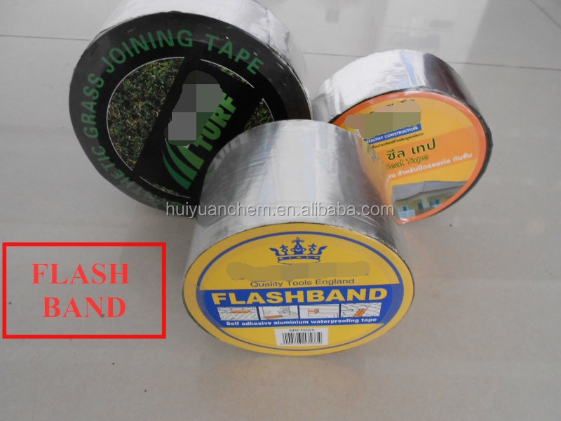manufacturer: 1.2mm flashband self adhesive bitumen tape for roofing or basement waterproofing