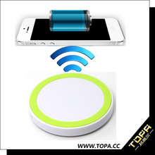 top safety universal wireless charging pad receiver with alarm clock qi charging