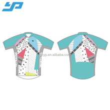 Wholesale custom cycling apparel digital sublimation MITI Fabrics cycling jersey bicycle shirt