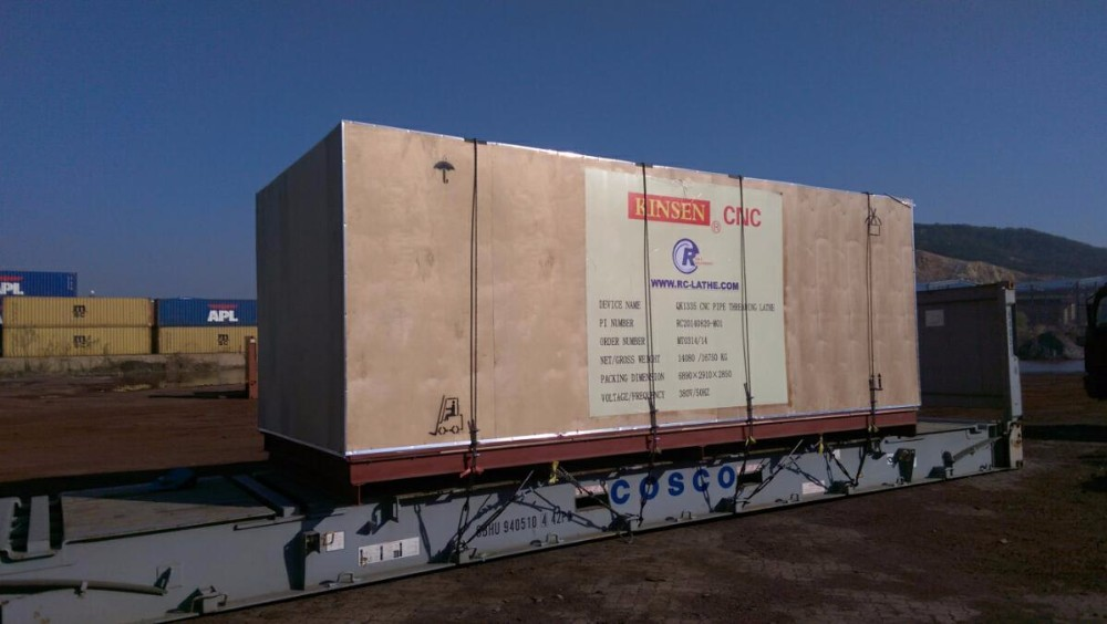 Torno del CNC de China de la herramienta QK1313 Torno para el tubo