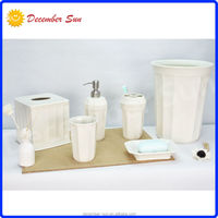 hotel popular exclusive promotional clear porcelain