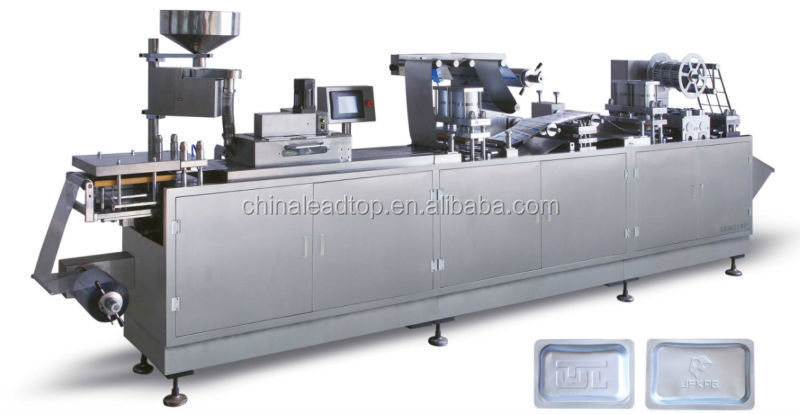 DPP-320 Flat aluminum-plastic Blister packaging machine