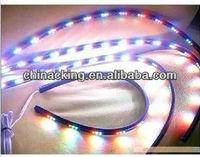 7 colors change 2x48 & 2x36 Under Car light LED Glow Underbody System Neon Light Kit