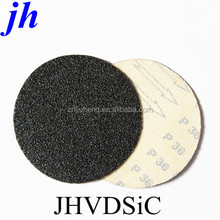 c weight sanding paper Silicon carbide 7 inch PSA velcro disc