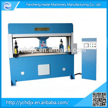 Automatic travelling head leather rubber bag die cutting press machine