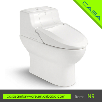 Ceramic With Heated Seat Cover Anti Bacteria Smart Electric Toilet Buy Smar