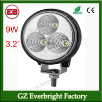 2014 popular 9W 3.2 inch led working light headlights led driving light for truck tractor car,motocycle,jeep