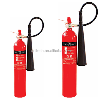 3KG Co2 Fire Extinguisher with Alloy Steel 34 CrMo4 cylinder