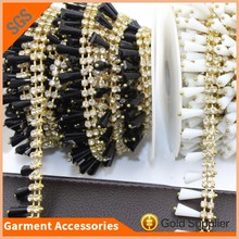 Clothes Decorative Chain Glass Rhinestone Banding Crystal Beads Trimming