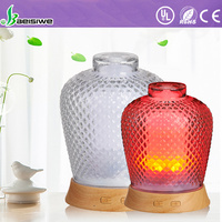 Manufacture Supplier automatic glass perfume air wickflash aroma essential oil diffuser