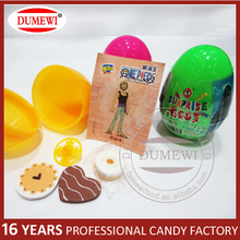 Promotional Gift With Candy Surprise Plastic Dinosaur Egg Toys