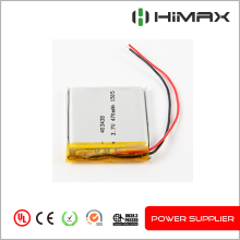 China cells 303450 rechargeable 3.6v 500mah lipo battery