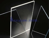 Clear Polycarbonate Plastic roof panels for walls