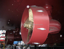 All-around thrust rudder propeller with controllable pitch