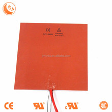 customized silicone rubber heater 200mm*200mm 3d printer heated bed, Professional customizing kinds of silicone rubber heater