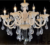 Crystal Hanging Ceiling Light, Led Art Deco Chandeliers