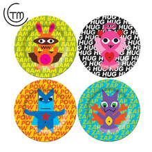 Twinkle colorful cheap plastic compartment checker plate centering melamine plates