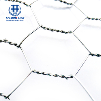 304 Stainless Steel Silver Color Hexagonal Wire Netting