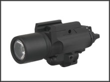 tactical X400 Ultra LED Weapon Light with red laser For Indicator Hunting/bycyling/hiking EMERSON
