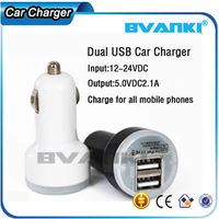 100% Brand New High Quality Mini Dual 2 Port USB Car Charger Adapter For iPod For MP3 for iPhone,Multi Port Car Charger