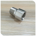 "Stainless Steel Extension Nipple 1/2"" NPT FML x 1/2"" NPT Male"