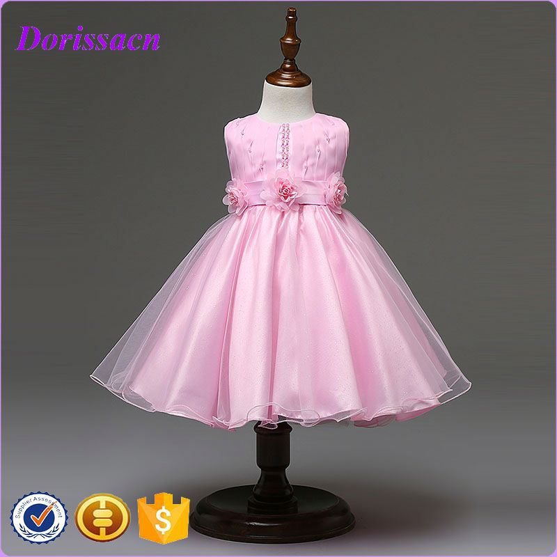 one-piece dresses for girls of 10 years old bow fancy smoking girl frock dress kids holidays wear