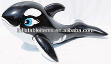 PVC durable inflatable whale