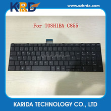 Genuine New laptop keyboard For Toshiba C850 C855 C870 L870 Spanish keyboard
