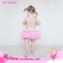 Newborn Petti skirt Bloomers Baby pink bloomer attached to petti skirt