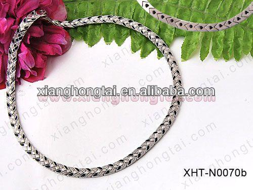 2013 cheap wholesale titanium rope sports necklace health and fashion jewelry