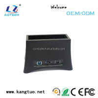 Support 2.5/3.5 inch SATA hard drive USB3.0 sata hdd docking station driver