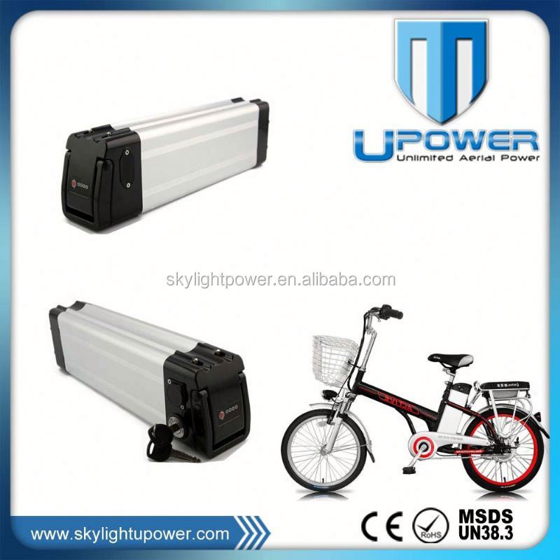 2016 China Rechargeble 36volt ebike battery pack 12ah