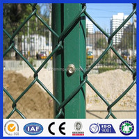 DM30 ISO9001 Certification Galvanized steel chain link fence