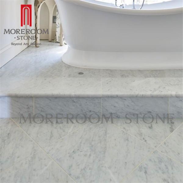 Italian white tile size bianco carrara marble for sale Italian carrara white marble countertop