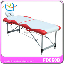 thai massage bed with durable pu/pvc leather