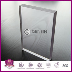 High quality 1220*2440mmn 10mm solid polycarbonate sheet