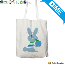 2017 Custom Rabbit Pattern And Logo Travel Useful Cotton Bag