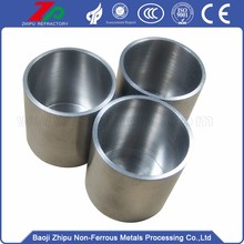High purity tungsten crucibles for jewelry